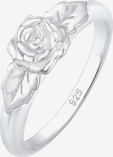 ELLI Δαχτυλίδι 'Rose, Vintage' σε ασημί, Άποψη προϊόντος
