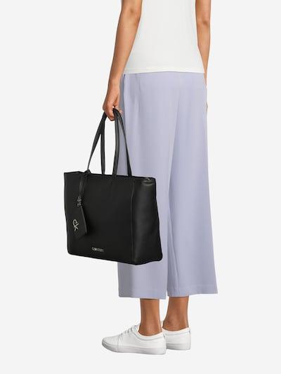 Calvin Klein Shopper in schwarz: Frontalansicht