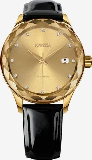 JOWISSA Quarzuhr 'Tiro' Swiss Ladies Watch in gold / schwarz, Produktansicht