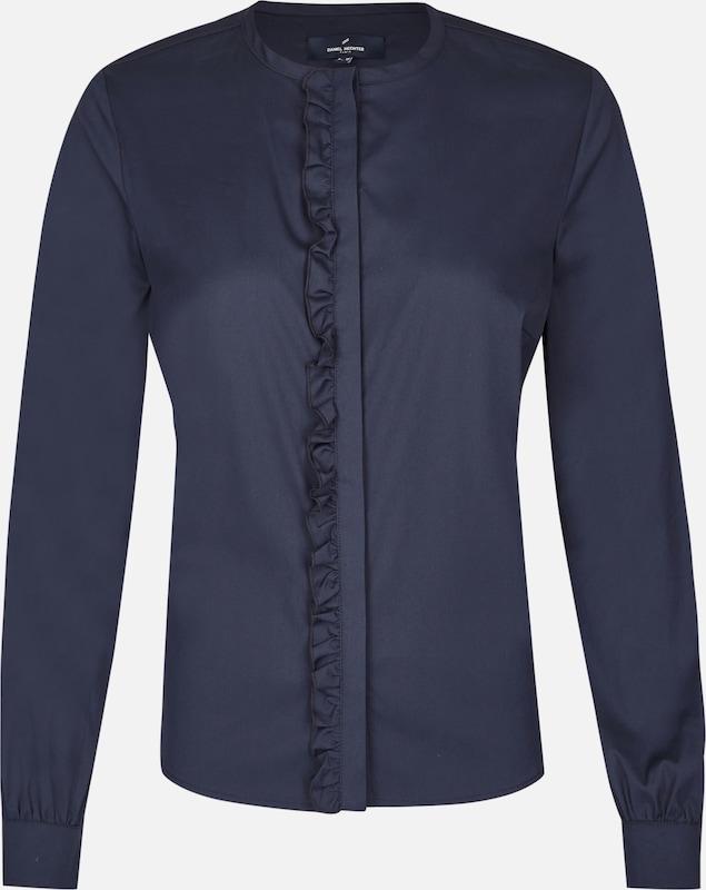 DANIEL HECHTER Blause in nachtblau  Markenkleidung für Männer und Frauen