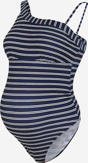 MAMALICIOUS Jednodielne plavky 'LYCINDA H.C.' - tmavomodrá / biela, Produkt