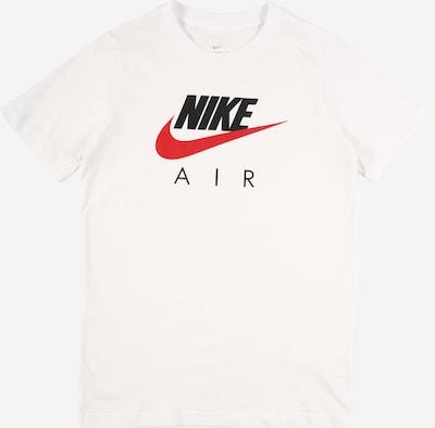 Nike Sportswear T-Shirt 'Air FA20 1' en rouge / noir / blanc, Vue avec produit