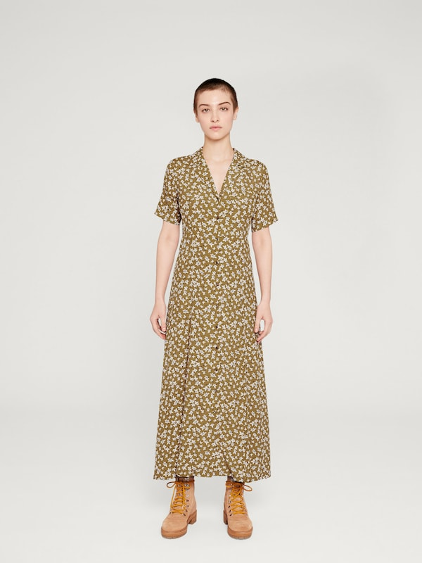 Robe chemise CamelMoutarde Edited 'bruna' En JTlFK1c3