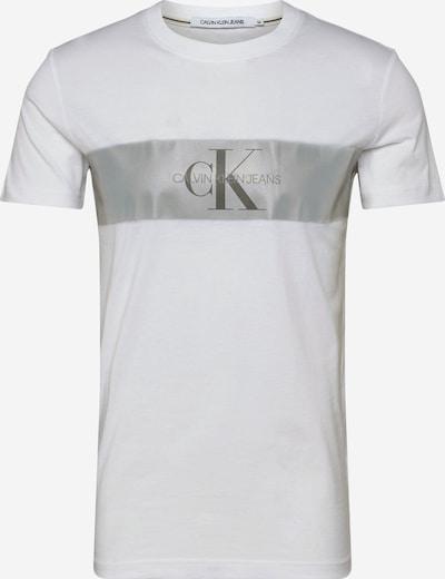 Calvin Klein Koszulka 'REFLECT STRIPE MONOG' w kolorze białym, Podgląd produktu
