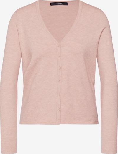 VERO MODA Strickjacke 'VMHAPPY BASIC LS V-NECK CARDIGAN NOOS' in rosé, Produktansicht