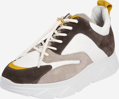 PAVEMENT Sneaker 'Portia' in grau / dunkelgrau / weiß, Produktansicht