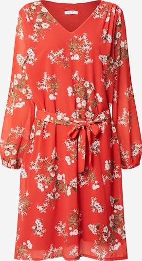 ZABAIONE Kleid 'Sonja' in orangerot, Produktansicht