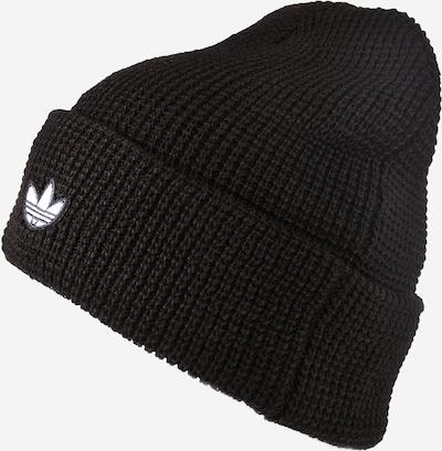 ADIDAS ORIGINALS Bonnet en noir / blanc, Vue avec produit