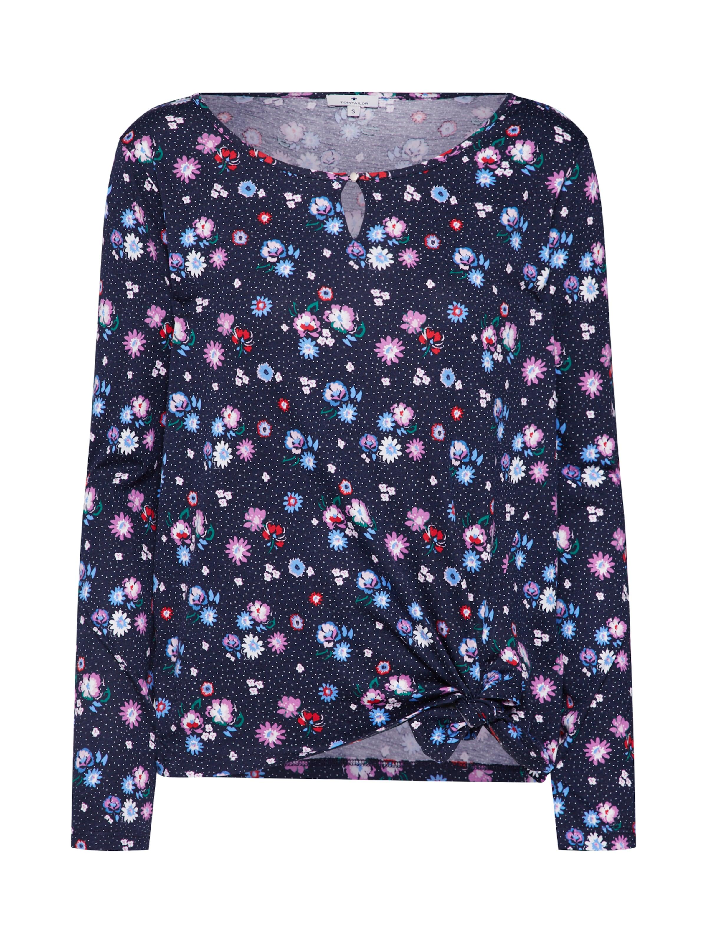 Canneberge T Tom En Tailor shirt MarineClair Blanc Bleu Violet sQdhrt