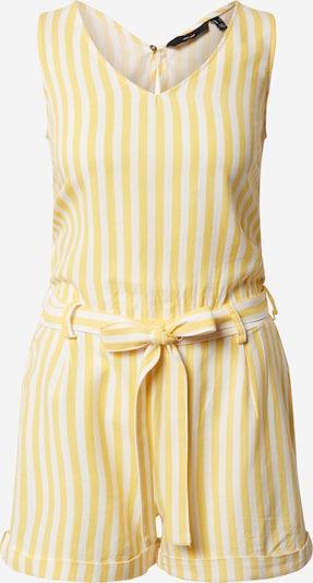 VERO MODA Overall 'VMHELENMILO SL PLAYSUIT STRIPE WVN' in gelb / weiß, Produktansicht