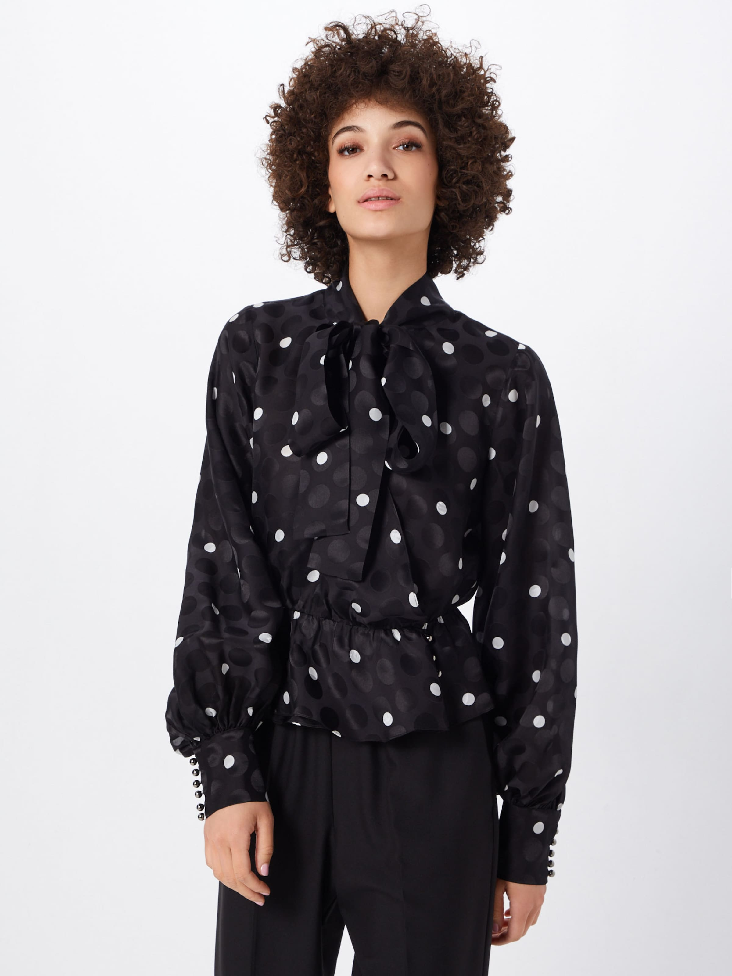 The SchwarzNaturweiß In Bluse The In Kooples Bluse SchwarzNaturweiß The Kooples J3FcT1lK