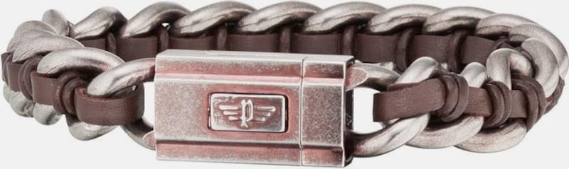 POLICE Armband »SCHOCK II, PJ26052BSEBR.02-L«
