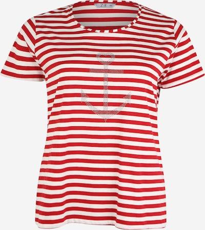 Z-One T-shirt 'Marita' en rouge / blanc, Vue avec produit
