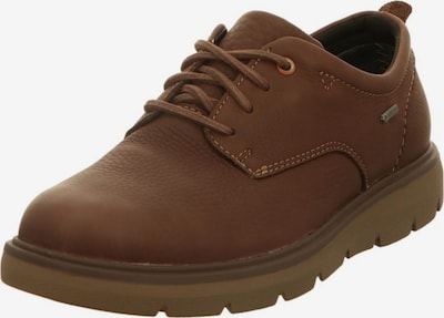 Ganter Schnürschuhe in dunkelbraun, Produktansicht