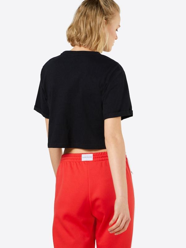 T shirt Ellesse En OrangeRouge Blanc Noir 'alberta' 5L34jAR