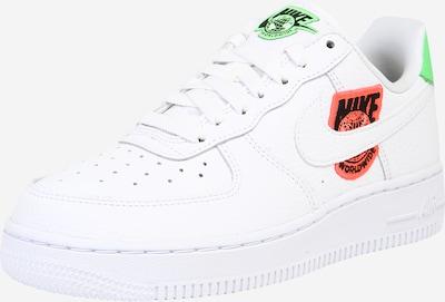 Nike Sportswear Niske tenisice 'Air Force 1' u svijetlozelena / tamno narančasta / crna / bijela, Pregled proizvoda