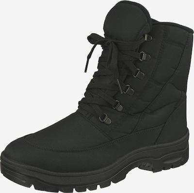 Natural Feet Stiefel 'Hamilton' in schwarz: Frontalansicht