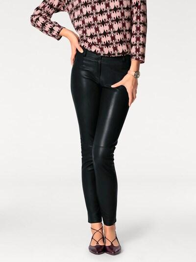 heine Lammnappa-Leggings in schwarz, Modelansicht