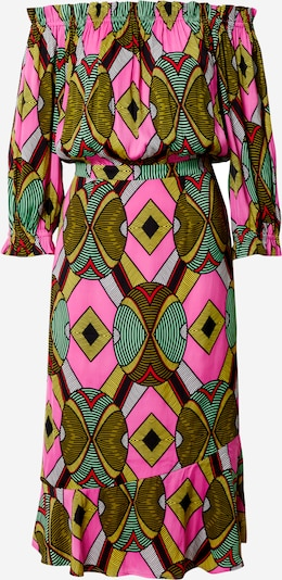 Essentiel Antwerp Šaty 'Watata' - zelená / pink, Produkt
