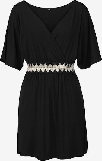 LASCANA Vêtement de plage en noir / blanc, Vue avec produit