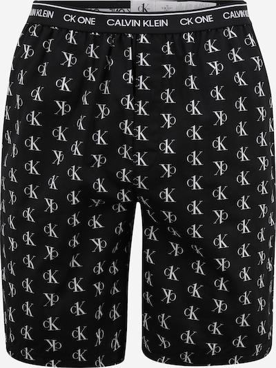 Calvin Klein Underwear Pidžaamapüksid must / valge, Tootevaade