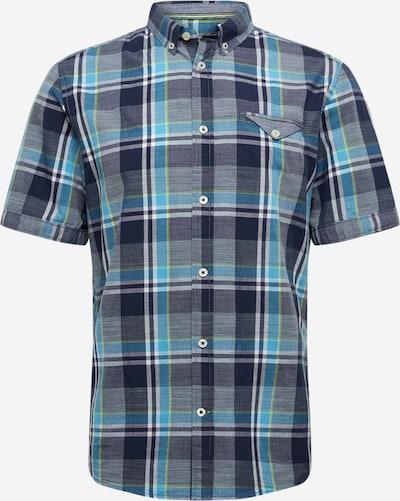TOM TAILOR Košile - modrá / zelená / bílá, Produkt