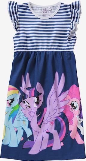 MY LITTLE PONY Kleid in navy / hellblau / lila / pink / rosa / weiß, Produktansicht
