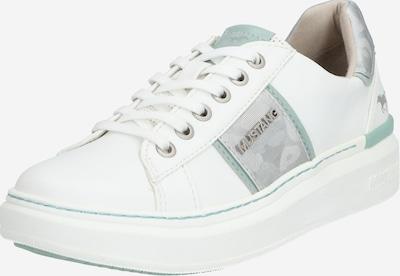 MUSTANG Nízke tenisky - biela: Pohľad spredu