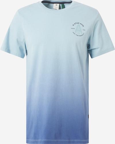 G-Star RAW T-Shirt in hellblau / dunkelblau, Produktansicht