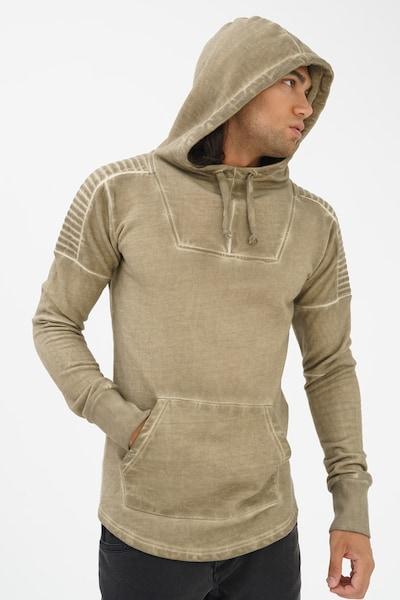 trueprodigy Sweatshirt 'Go On' in khaki, Produktansicht