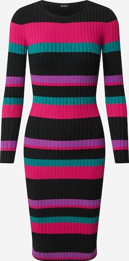 GUESS Kleid 'Angela' in pink / schwarz, Produktansicht