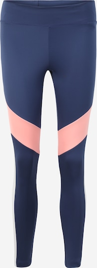 ADIDAS PERFORMANCE Leggings in dunkelblau / rosa, Produktansicht