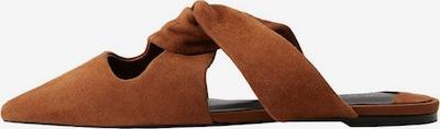 VIOLETA by Mango Klapki w kolorze brązowym, Podgląd produktu