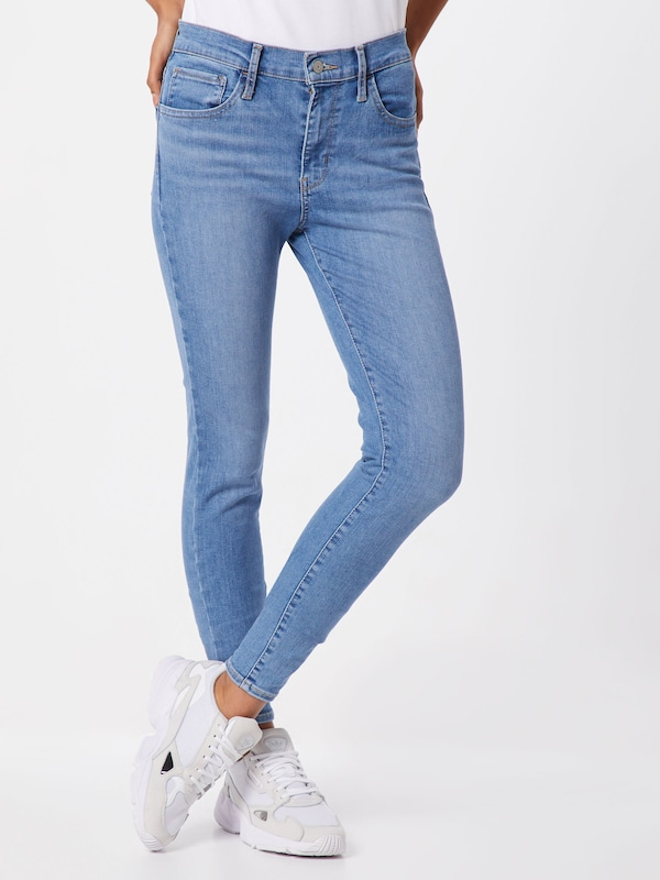 LEVI'S Jeans '720™ HIRISE' in blue denim: Frontalansicht