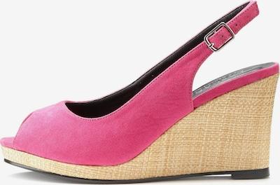 LASCANA Escarpins à bride arrière en rose, Vue avec produit