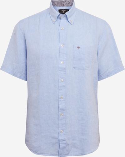 FYNCH-HATTON Hemd 'Solid Linen Shirt B.D' in hellblau, Produktansicht