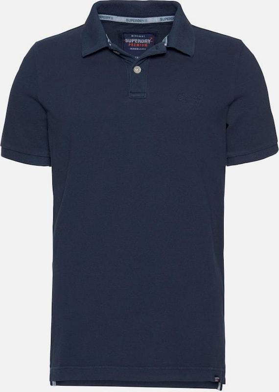 Superdry Poloshirt in nachtblau  Freizeit, schlank, schlank