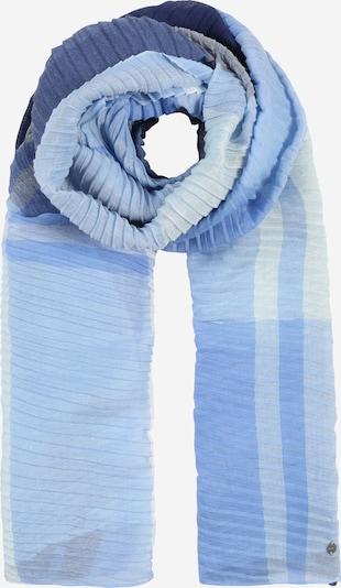 ESPRIT Tuch 'PlisseCheckScar' in blau / weiß, Produktansicht