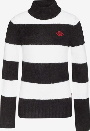 WE Fashion Pullover in schwarz / weiß, Produktansicht