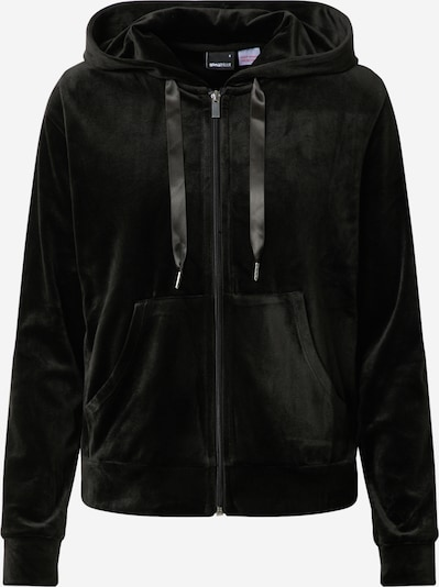 Gina Tricot Sweat jacket 'Cecilia' in black, Item view