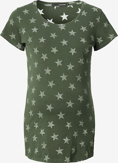 Supermom T-shirt 'Star' in khaki: Frontalansicht