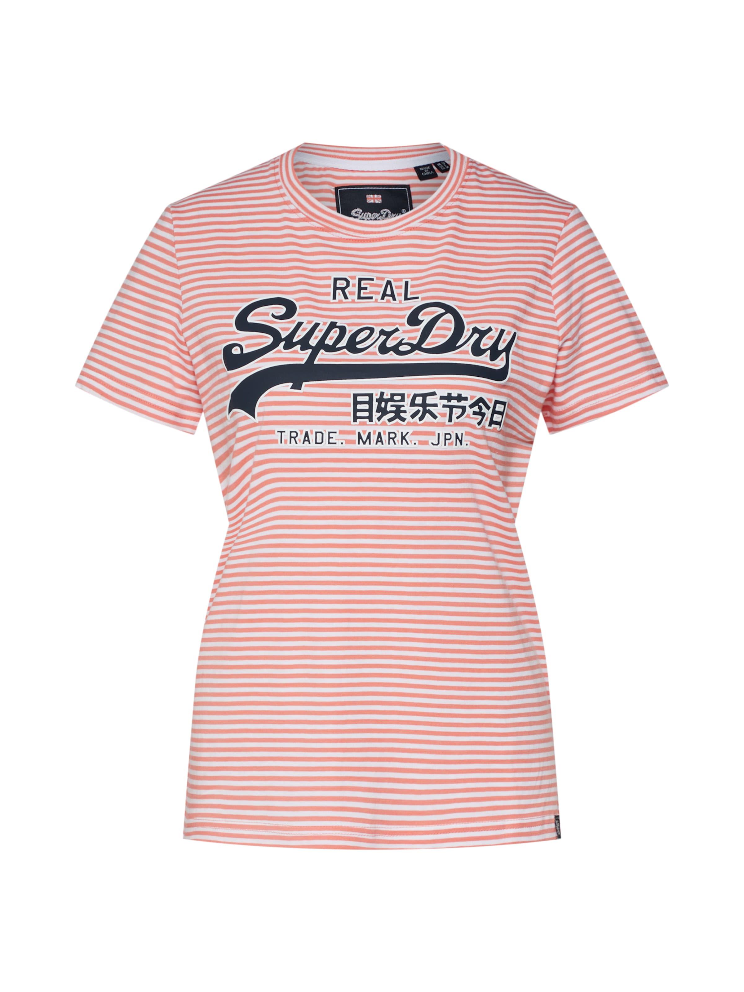 T En 'ventry' shirt Superdry Corail OukZiwTPXl
