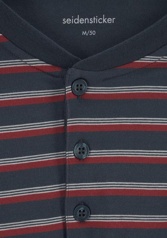 SEIDENSTICKER Pyjama kurz Shorty mit Streifen