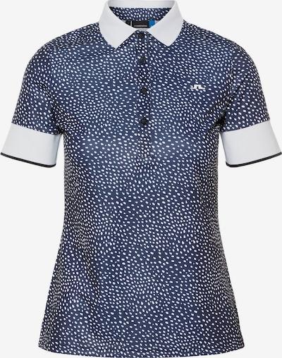 J.Lindeberg Functioneel shirt in de kleur Blauw, Productweergave