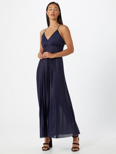 ABOUT YOU Večerné šaty 'Leoni' - tmavomodrá, Model/-ka