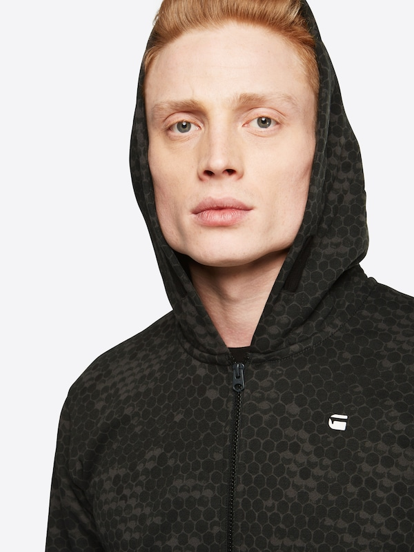 G-STAR RAW Sweatjacke 'Core hoc hooded zip sw l/s'