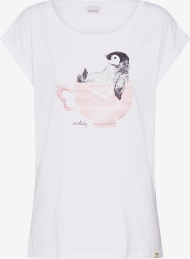 Iriedaily Shirt 'Pingulax Tee' in weiß, Produktansicht