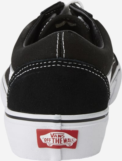 VANS Sneaker 'Old Skool' in schwarz / weiß: Rückansicht