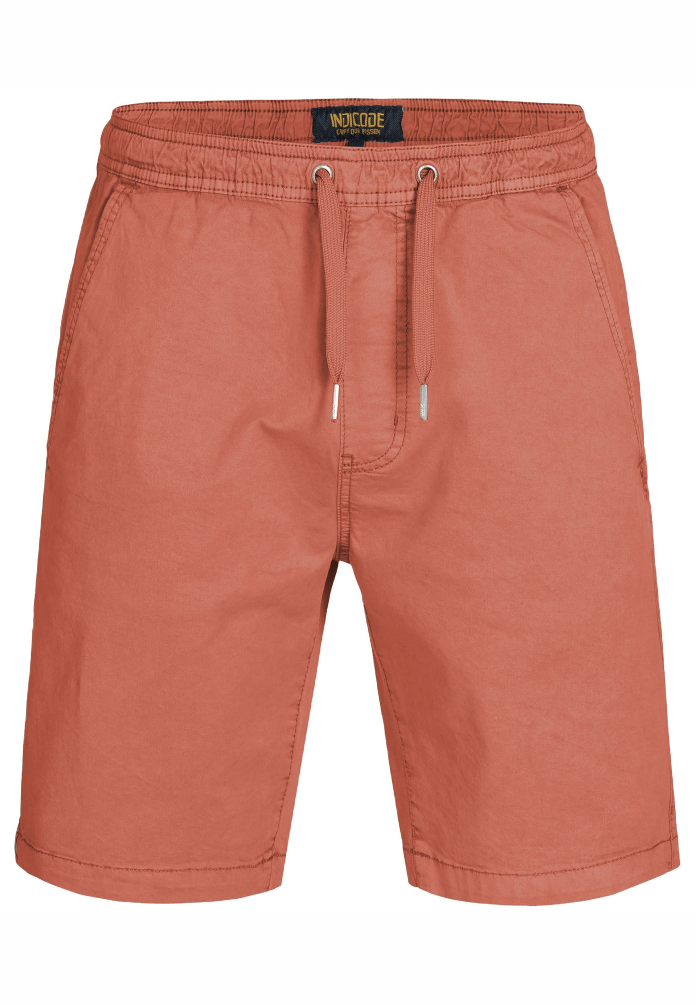 Pantalon En Corail Jeans Indicode Chino 'kelowna' SVMqUpzG