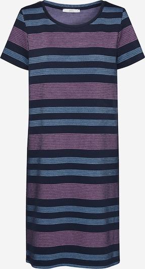 EDC BY ESPRIT Robes en maille en bleu marine / rose, Vue avec produit